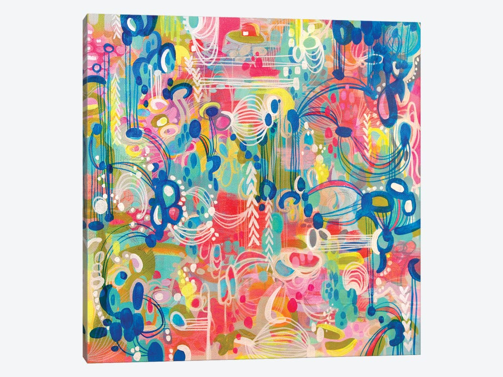 Crazy Town by Stephanie Corfee 1-piece Canvas Art