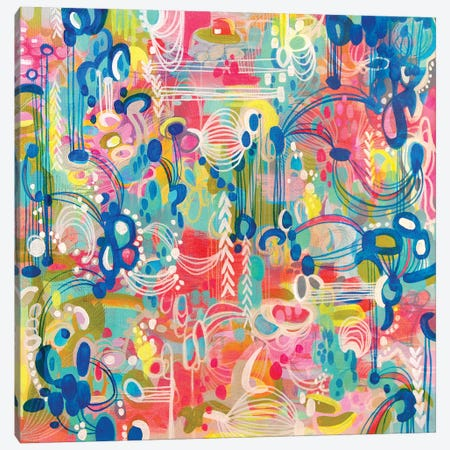 Crazy Town Canvas Print #STC20} by Stephanie Corfee Canvas Wall Art