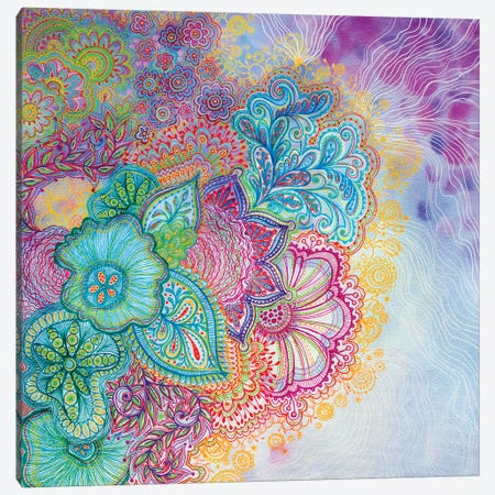 Flourish Canvas Print #STC25} by Stephanie Corfee Art Print