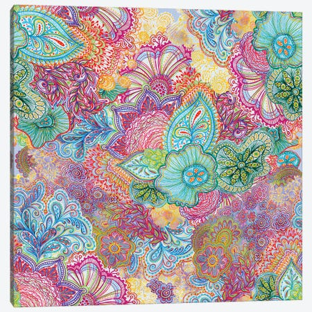 Flourish All Over Canvas Print #STC26} by Stephanie Corfee Canvas Art Print
