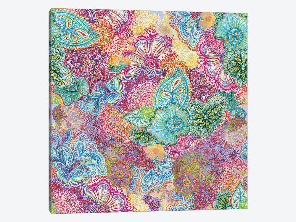 Flourish All Over by Stephanie Corfee 1-piece Canvas Artwork