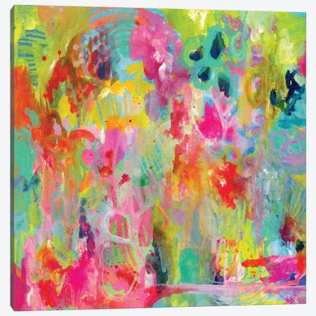 Hot Mess Canvas Print #STC37} by Stephanie Corfee Canvas Artwork