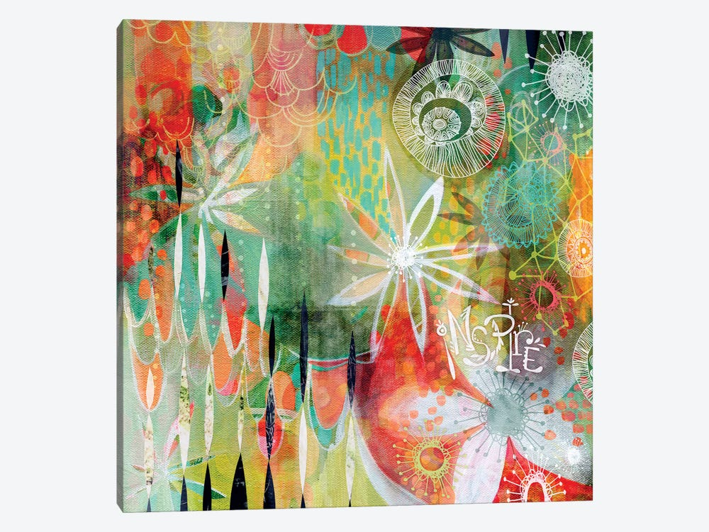 Inspire by Stephanie Corfee 1-piece Canvas Wall Art