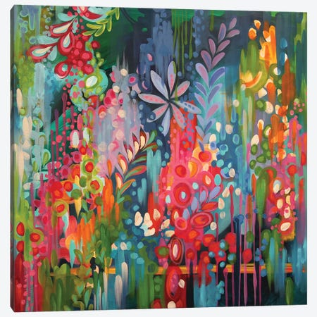 Lush Canvas Print #STC44} by Stephanie Corfee Art Print