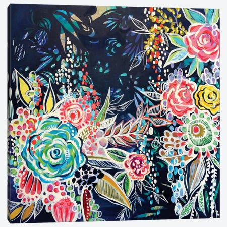 Night Bloomers Canvas Print #STC51} by Stephanie Corfee Canvas Art Print