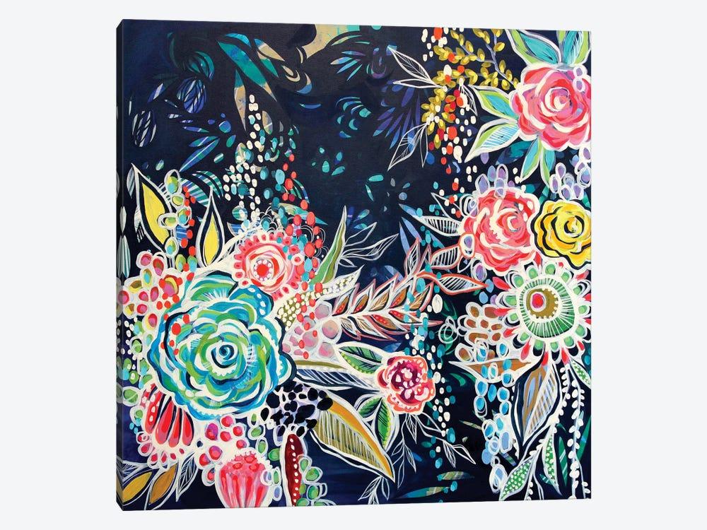 Night Bloomers by Stephanie Corfee 1-piece Canvas Art