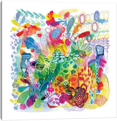 Painted Garden Canvas Art Print