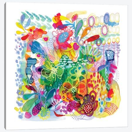 Painted Garden Canvas Print #STC54} by Stephanie Corfee Canvas Wall Art