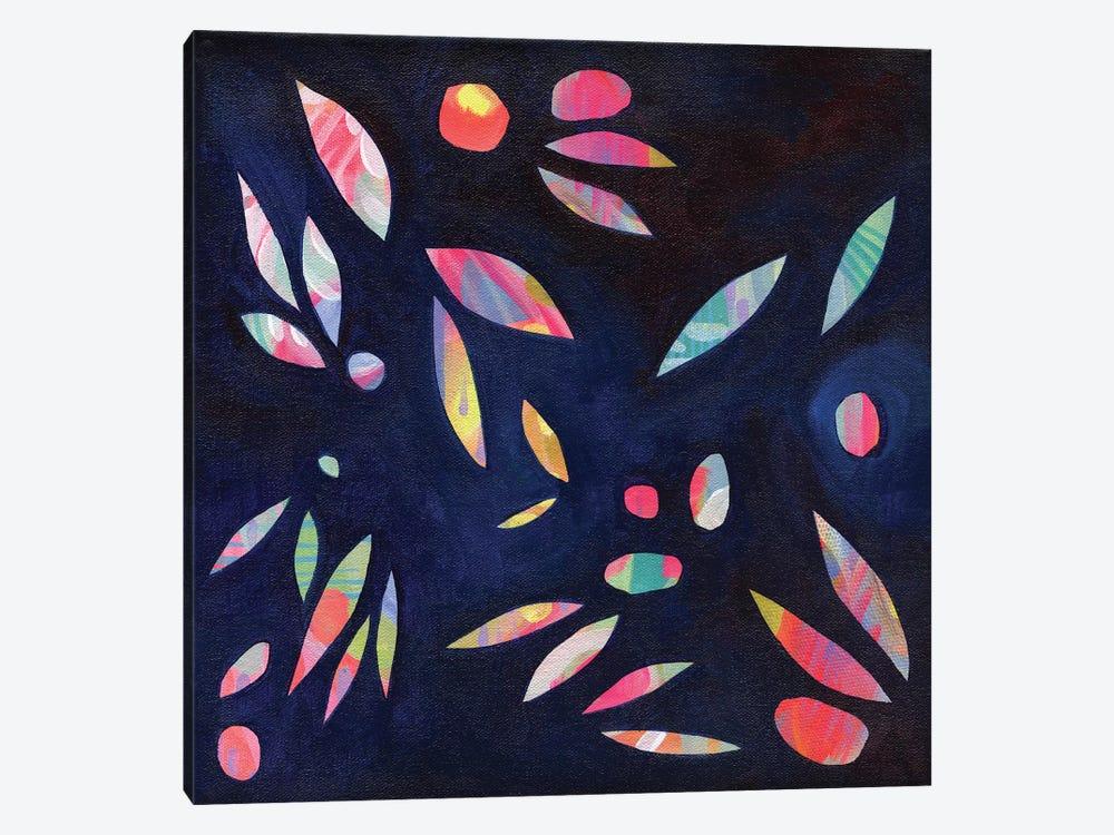 Rainbow Leaves by Stephanie Corfee 1-piece Canvas Art Print