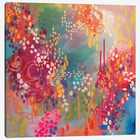 Razzle Dazzle Canvas Print #STC62} by Stephanie Corfee Canvas Wall Art