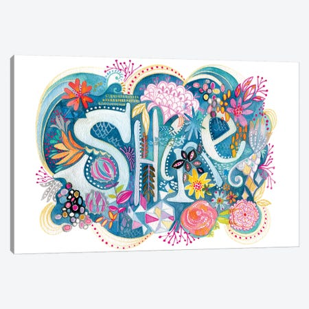 Shine Canvas Print #STC63} by Stephanie Corfee Canvas Artwork