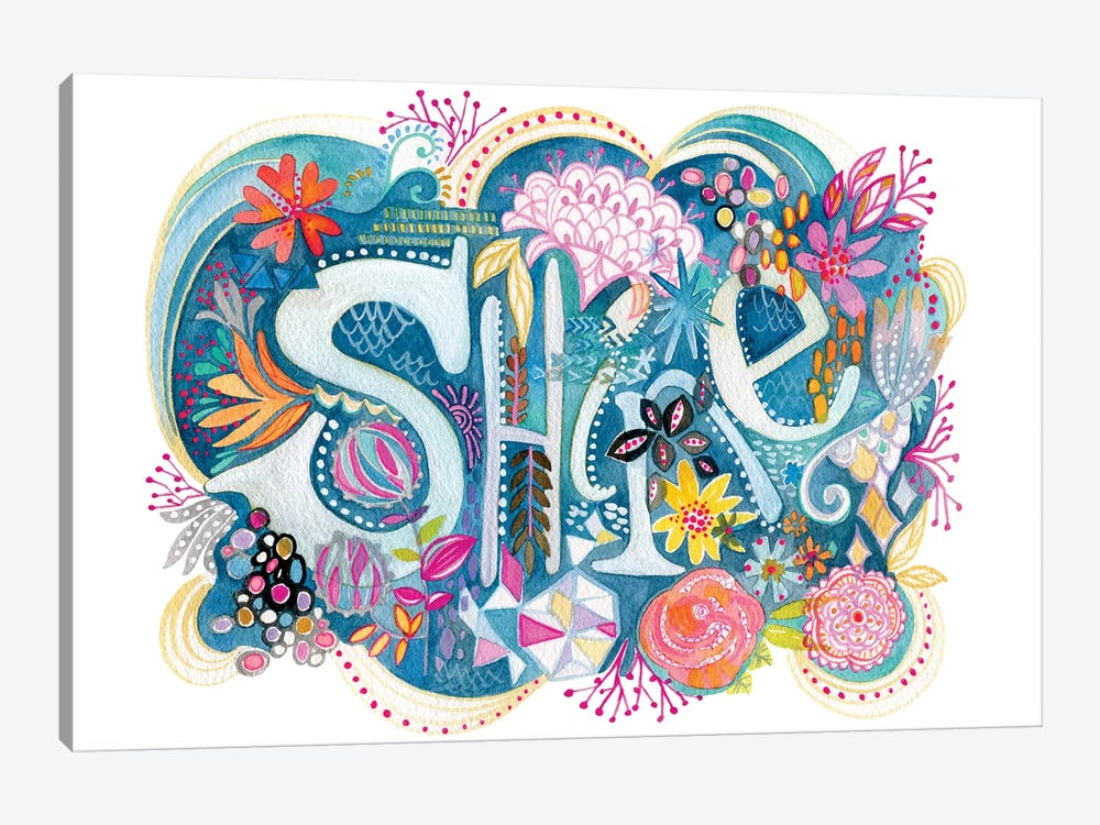 Shine by Stephanie Corfee 1-piece Canvas Print
