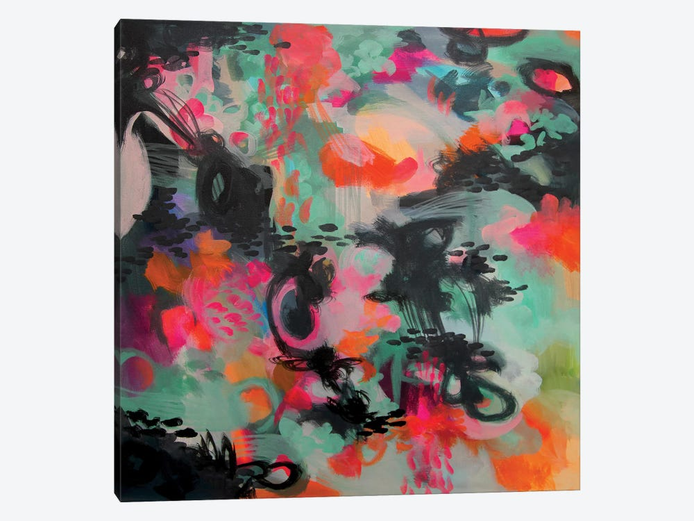 Spilled Ink by Stephanie Corfee 1-piece Canvas Artwork