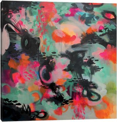 Spilled Ink Canvas Art Print