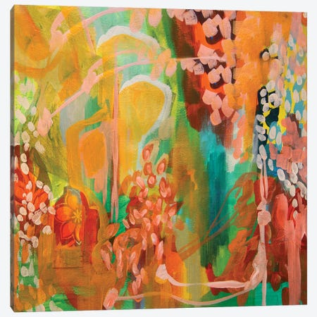 That Artsy Girl Canvas Print #STC74} by Stephanie Corfee Canvas Artwork