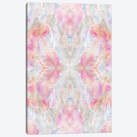 Watercolor Damask Canvas Print #STC78} by Stephanie Corfee Canvas Art Print