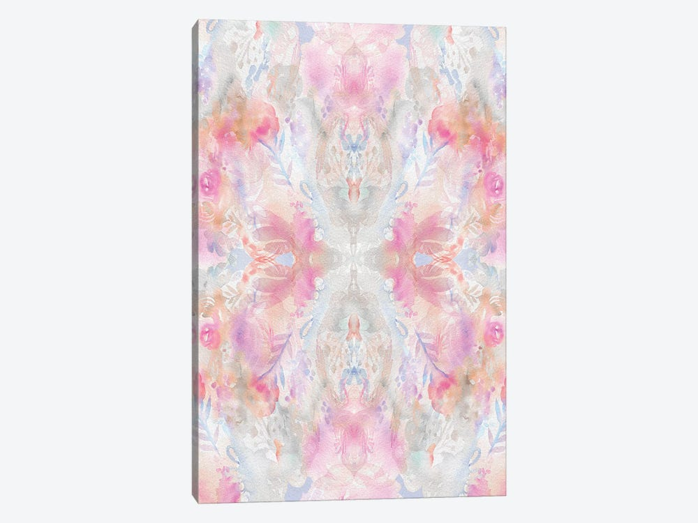 Watercolor Damask by Stephanie Corfee 1-piece Canvas Print