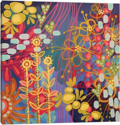 Bluesy Canvas Art Print