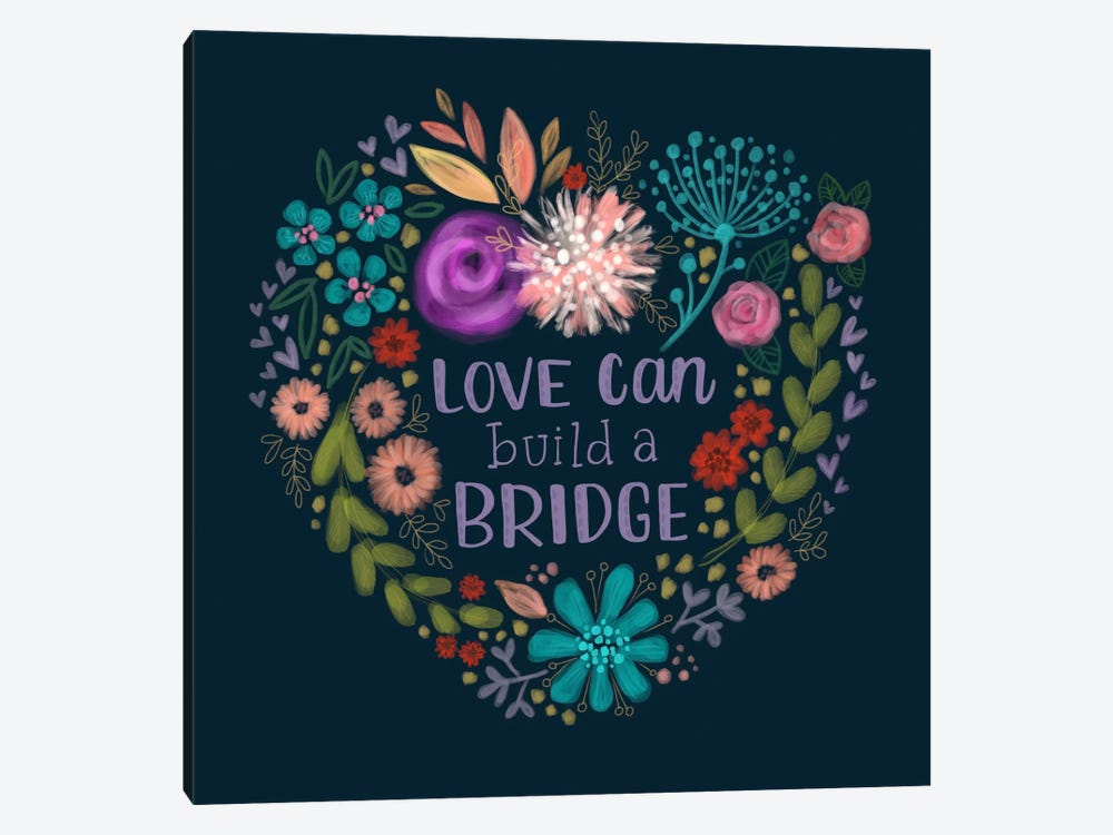 Build A Bridge by Stephanie Corfee 1-piece Art Print