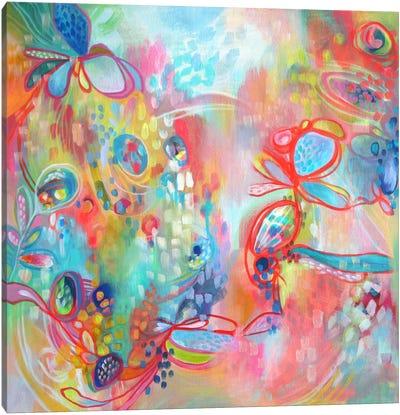 Chasing Daylight Canvas Art Print