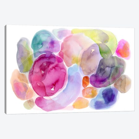 Color Puddles Canvas Print #STC97} by Stephanie Corfee Canvas Art