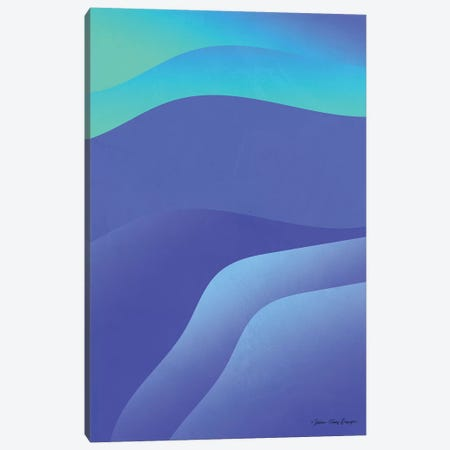 Abstract II Canvas Print #STD100} by Seven Trees Design Canvas Art