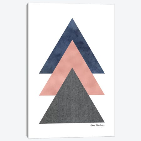 Triangles I Canvas Print #STD101} by Seven Trees Design Canvas Artwork