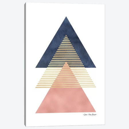 Triangles II Canvas Print #STD102} by Seven Trees Design Canvas Wall Art
