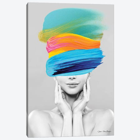 Beauty in Colors Canvas Print #STD105} by Seven Trees Design Canvas Print