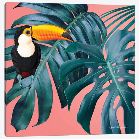 The Toucan Canvas Print #STD108} by Seven Trees Design Canvas Art