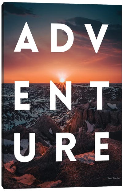 Adventure Landscape Canvas Art Print