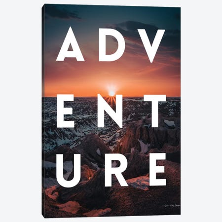 Adventure Landscape Canvas Print #STD111} by Seven Trees Design Canvas Print
