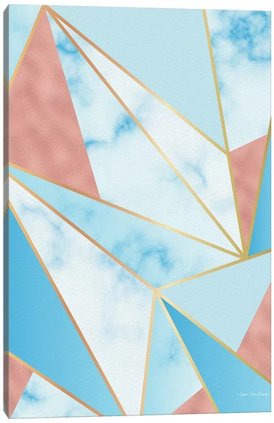 Geometric Sky Canvas Art Print