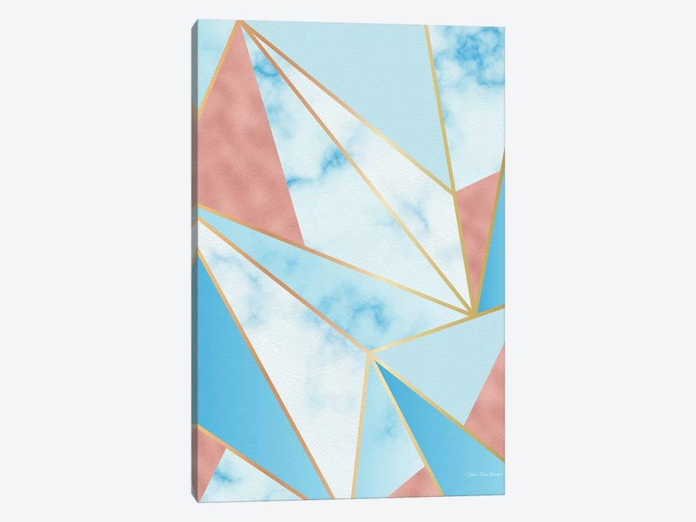 Geometric Sky by Seven Trees Design 1-piece Canvas Artwork