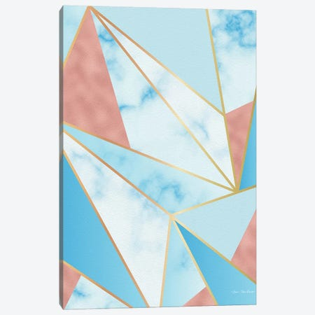 Geometric Sky Canvas Print #STD117} by Seven Trees Design Canvas Wall Art