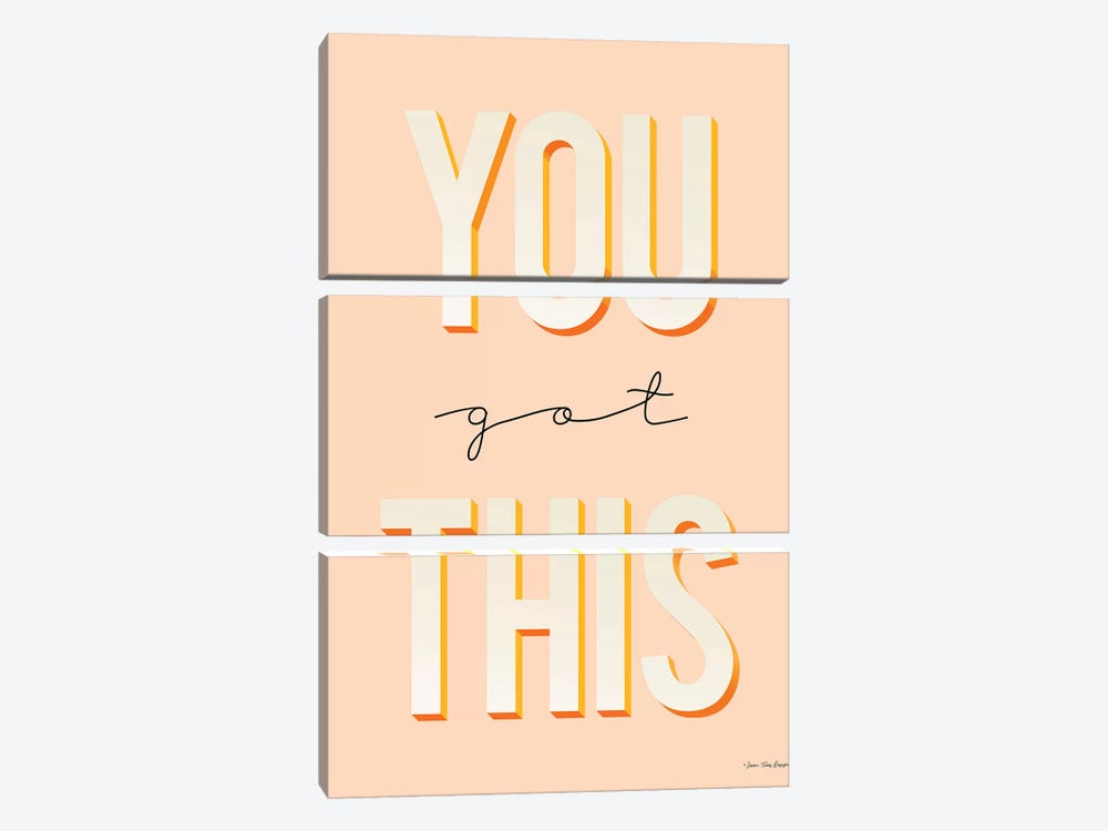You Got This by Seven Trees Design 3-piece Canvas Artwork