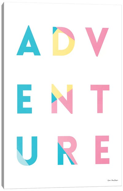 Adventure In Colors Canvas Art Print
