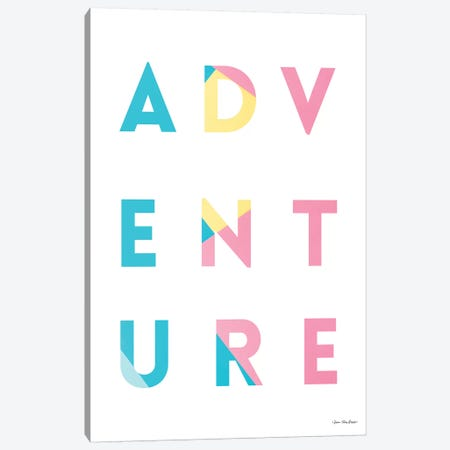Adventure In Colors Canvas Print #STD136} by Seven Trees Design Canvas Artwork