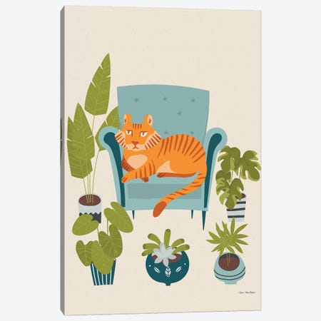 The Tiger Of The City Canvas Print #STD138} by Seven Trees Design Canvas Art Print