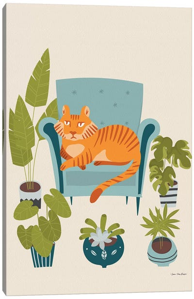 The Tiger Of The City Canvas Art Print