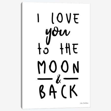 To The Moon Canvas Print #STD139} by Seven Trees Design Canvas Print