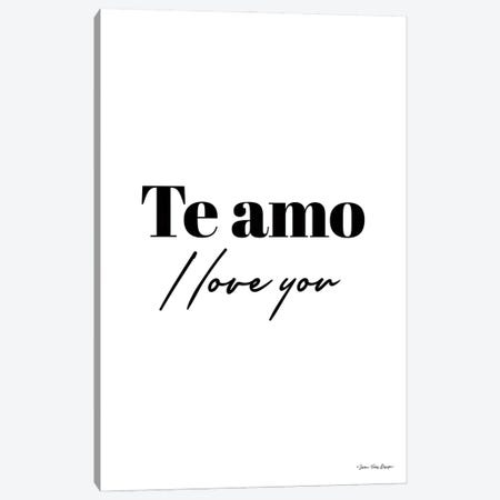 I Love You in Spanish Canvas Print #STD152} by Seven Trees Design Art Print