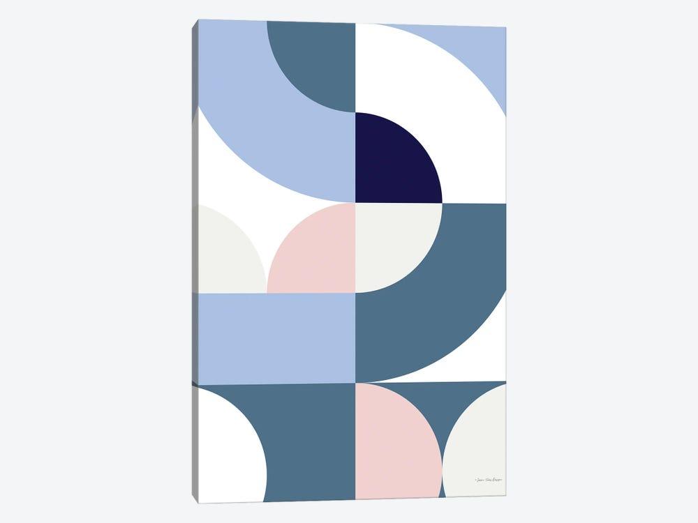 Scandinavian Geometry by Seven Trees Design 1-piece Canvas Artwork