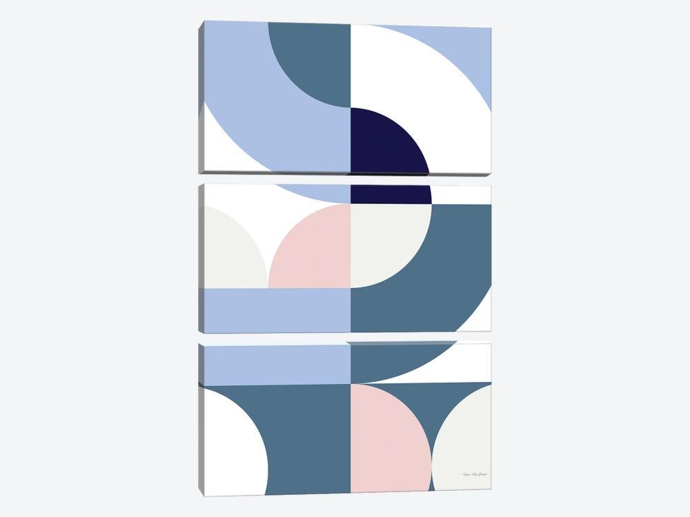 Scandinavian Geometry by Seven Trees Design 3-piece Canvas Artwork
