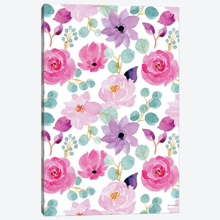 Sweet Flora Canvas Print #STD156} by Seven Trees Design Canvas Artwork