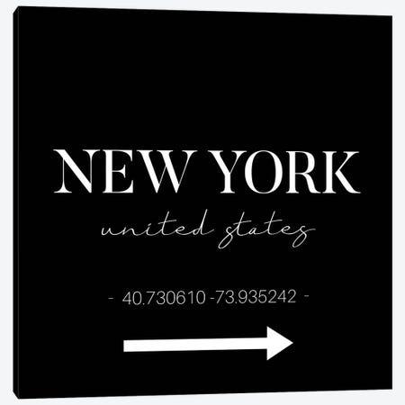 New York Sign Canvas Print #STD165} by Seven Trees Design Canvas Art Print
