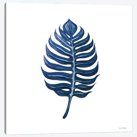 Watercolor Blue Leaf I Canvas Print #STD173} by Seven Trees Design Canvas Art Print