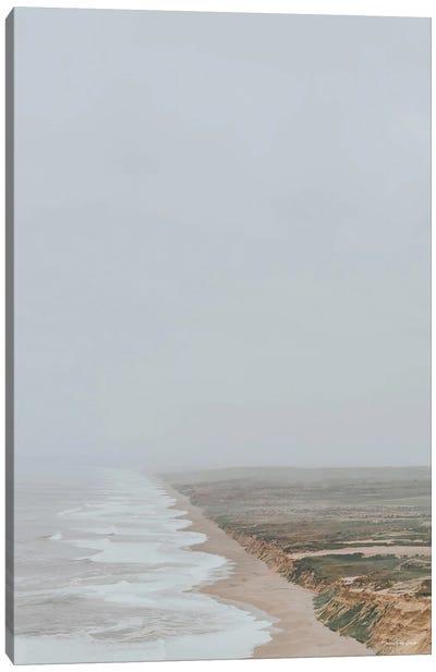 Fog And Waves Canvas Art Print
