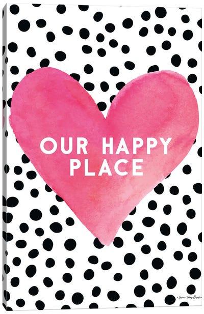 Our Happy Place Canvas Art Print