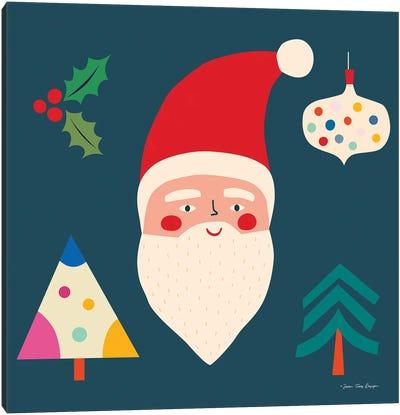 Santa & Christmas Canvas Art Print